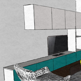 Rekonštrukcia bytu, Karlova Ves /2013/