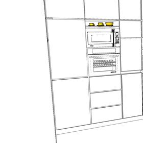 Návrh kuchyne v bytovom dome