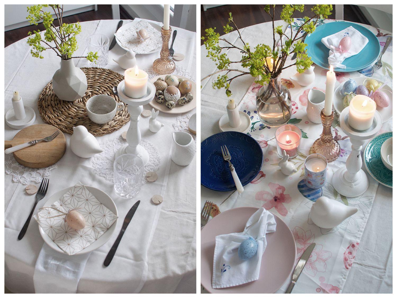 Inšpirácia na veľkonočné stolovanie v dvoch štýloch