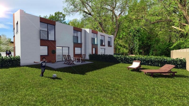 Vizualizácia bytového domu
