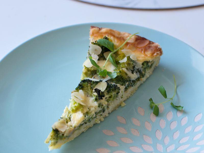 Recept: brokolicovo-gorgonzolový kiš