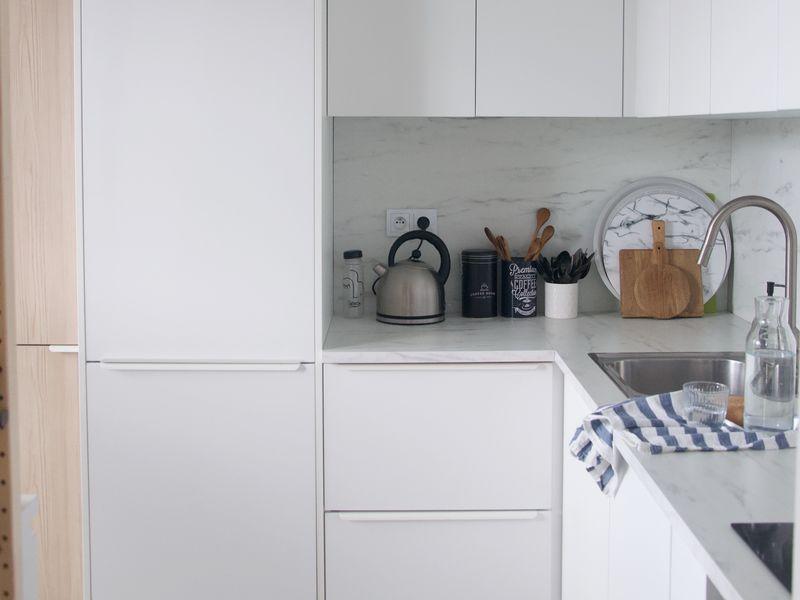 Prerábka kuchyne a kúpeľne // časť druhá