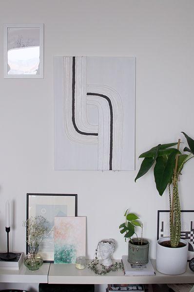 DIY: Obraz v minimalistickom štýle