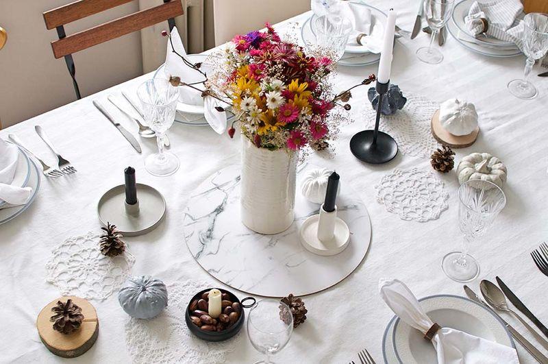 Dekorovanie: Vyskúšali sme náš nový jedálenský stôl