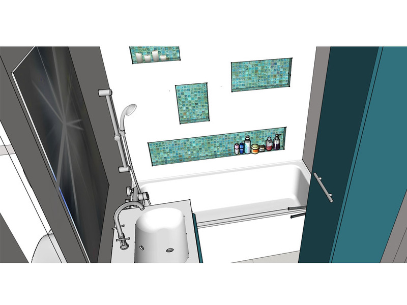 vizualizácia kúpelne