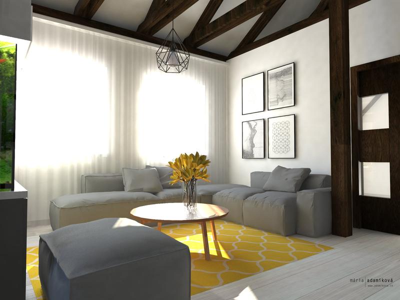 Elegantný podkrovný byt
