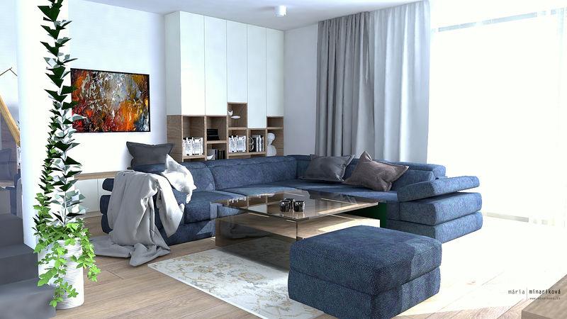 Elegantný minimalistický byt