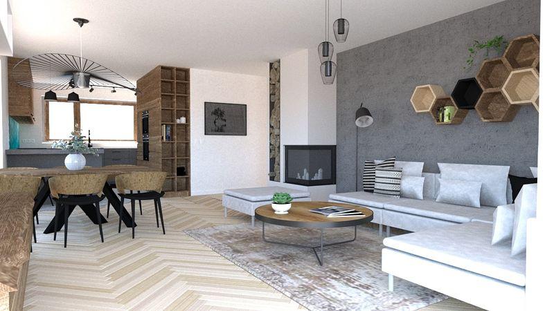 Návrh bytu v prírodnom štýle