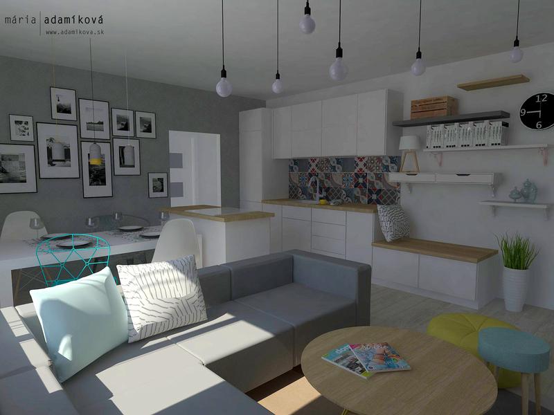 hlavný priestor bytu