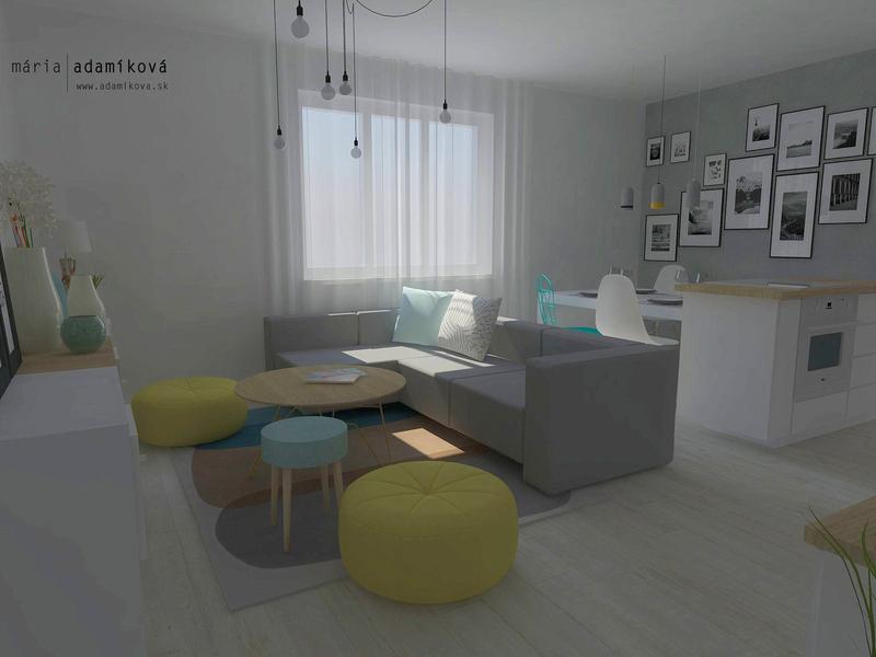 Hravý byt v UNITAS