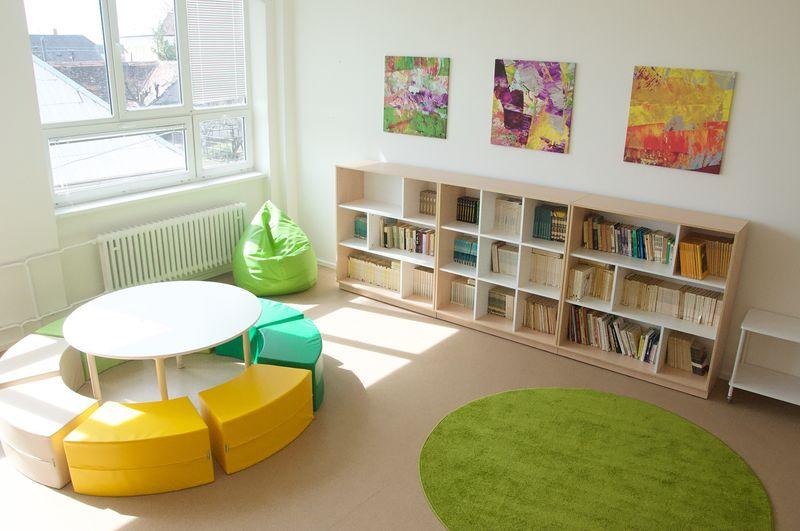 Návrh školskej knižnice
