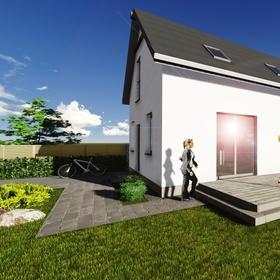 Vizualizácia rodinného domu