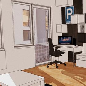 TV a pracovná časť