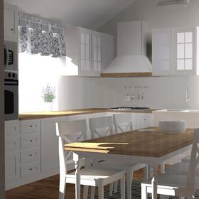 Návrh kuchyne v rodinnom dome /2014/